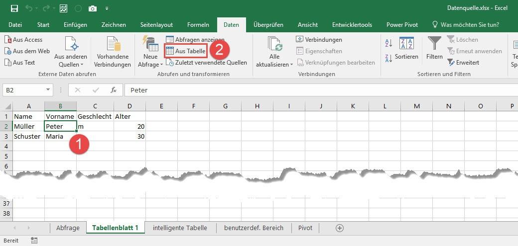 Power Query kennt 3 Excel-Objekte: Nutzt du sie richtig? | THE SELF ...