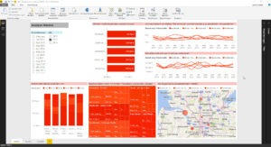 Wie erzeuge ich benutzerdefinierte Berichtsdesigns in Power BI