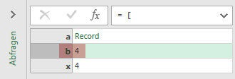 Result: Refering to x from outside record a (Power Query, Power BI)
