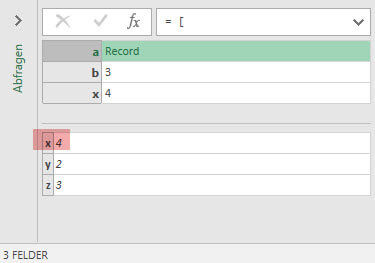 Result: Referring to x from x inside record a (Power Query, Power BI)