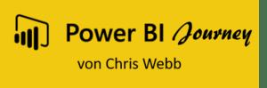 Die persönliche Power BI Journey von Chris Webb (in English as well)