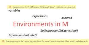 The Environment concept in M for Power Query and Power BI Desktop, Part 2