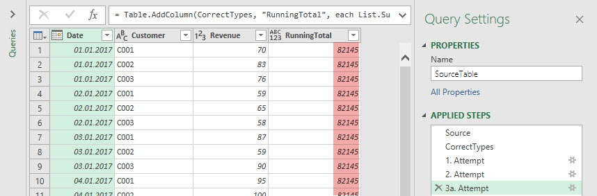 3a result: , Power Query, Power BI Desktop