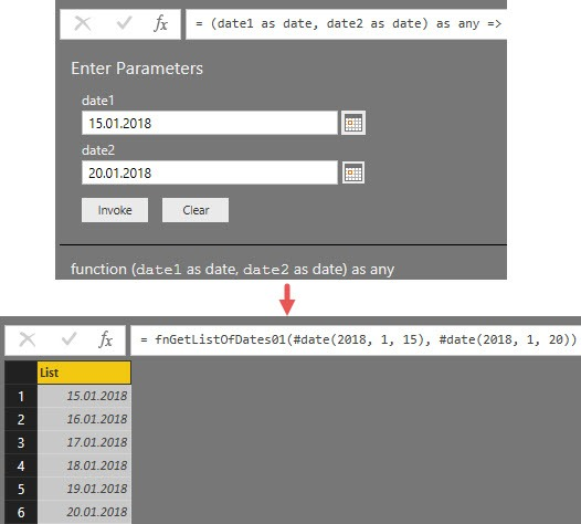 How the function works, Power Query, Power BI Desktop