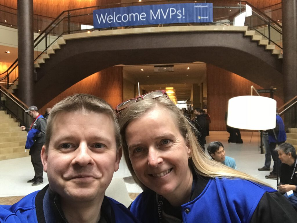 Selfie, Power BI, MVP Global Summit