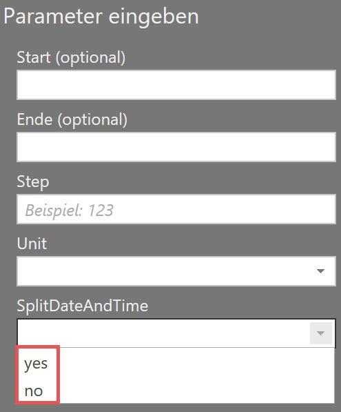 Choosing to split Date and time, or not, Power Query, Custom function