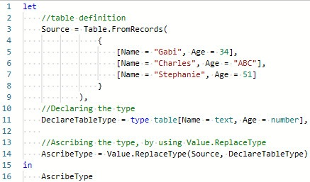 The table to load into the Power BI data model, Power BI, Power Query